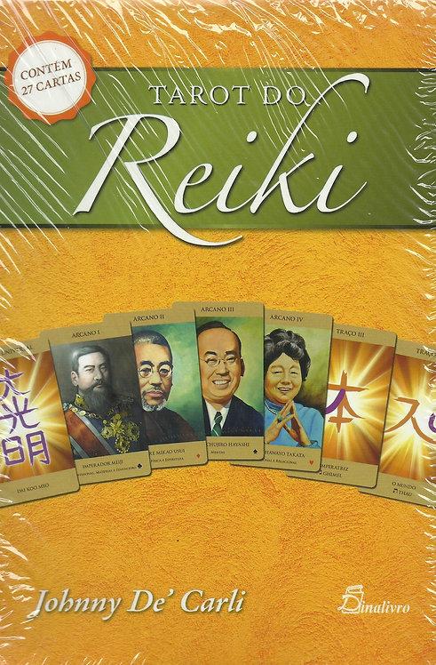 Tarot do Reiki (2.ª Edição) (Contém 27 cartas) de Johnny De´Carli