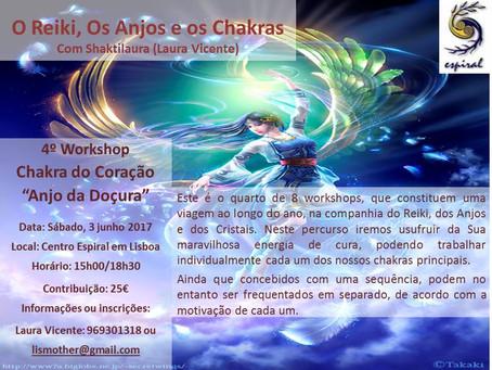 O Reiki, os Anjos e os Chakras por Laura Vicente