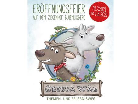 Eröffnungsfeier auf dem Ziegenhof Blüemlisberg/SZ