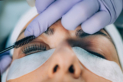 Canva - Cosmetologist Doing Lash Lifting