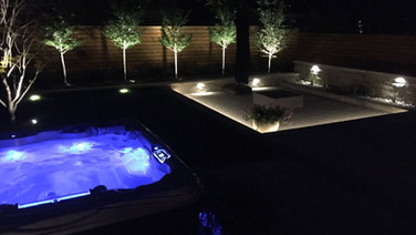 Landscape Lighting for entertaining