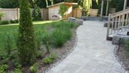 Back yard landscaped space!