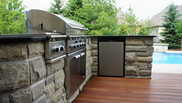 Dream back yard cooking area.
