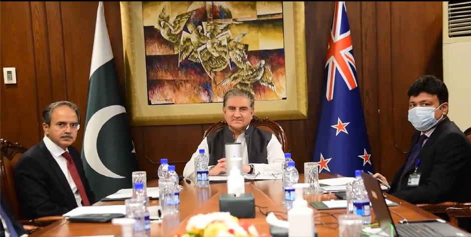Foreign Minister's video call with New Zealand Foreign Minister Hon Nanaia Mahuta