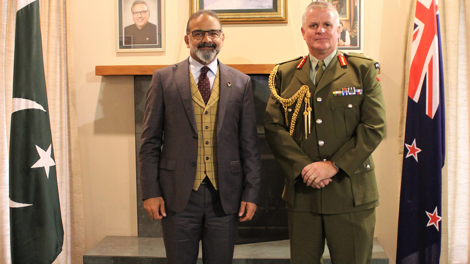 High Commissioner's meeting with the NZ Army Chief