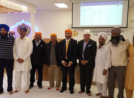 High Commissioner's visit to Wellington Gurudwara Sahib (10 November)