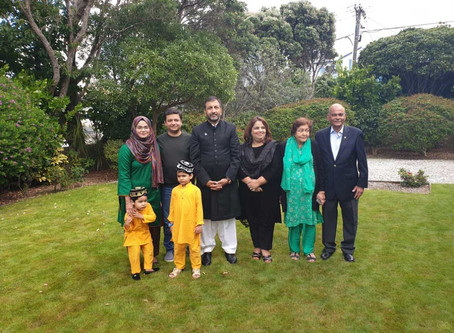 Flag hoisting ceremony on Pakistan National Day – 23 March 2019