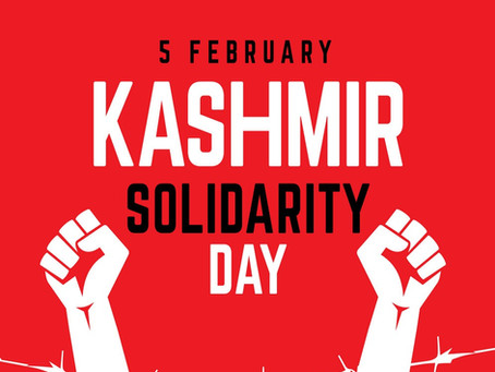 Observance of Kashmir Solidarity Day (5 February)