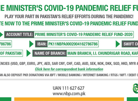 PM's COVID-19 Relief Fund