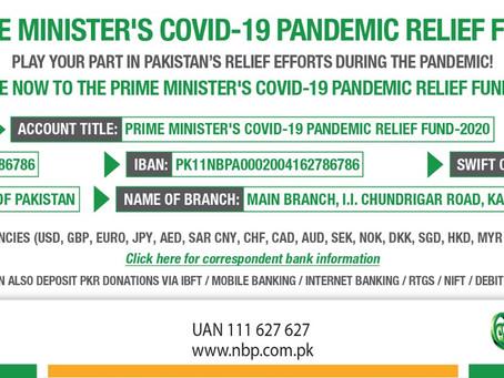 PM's COVID-19 Relief Fund