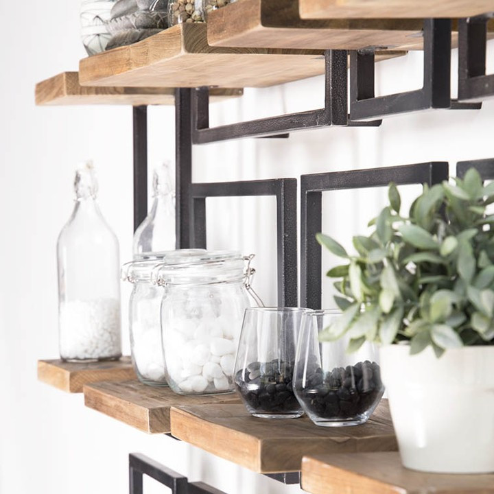 Shelf mate d-Bohdi recycling wandplank www.therealstyleguide.com