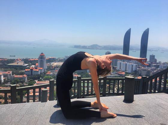 Hug the World: Hot Yoga, Hip Openers and Healing