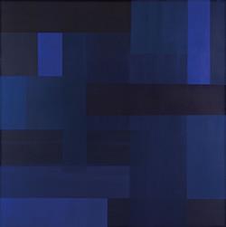 Blau162 (162) | Acryl | 100x100cm | 2015