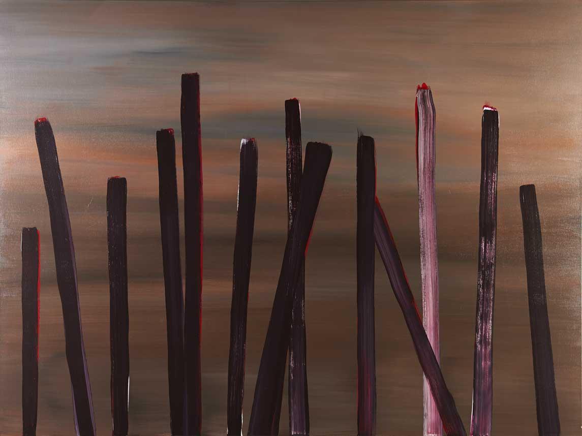 Der Herbst, er naht (150) | Acryl | 120x160cm | 2015