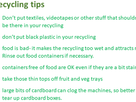 Where your recycling goes.