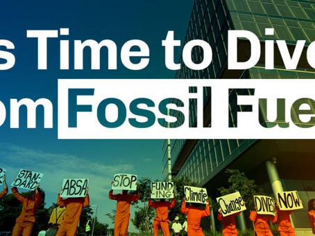Divesting from fuels makes environmental and financial sense