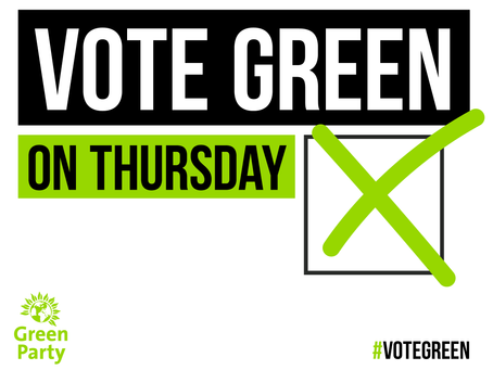 For a Green Voice on Derbyshire County Council