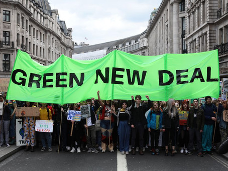 Chancellor must invest in a Green New Deal to protect climate and communities