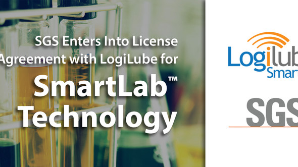 SGS Enters Into License Agreement with LogiLube for SmartLab™ Technology