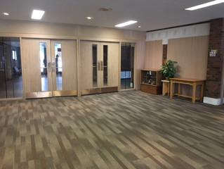 Sanctuary Wall, Chapel & Lounge Update