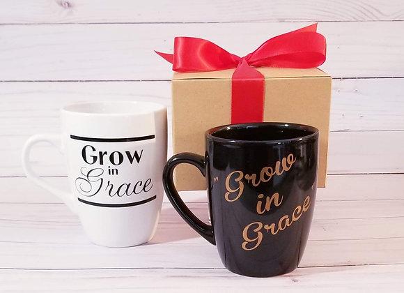 """Grow in Grace"" Mug"