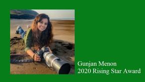 The Jackson Wild 2020 Rising Star Award goes to Gunjan Menon