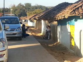 A village in the buffer zone of Kanha Ti