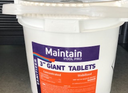 Maintain Pool Pro 3 in. Jumbo Tabs 25 lb.