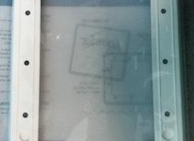 Aquadoor Widemouth AG Skimmer Faceplate & Lid