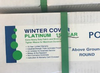 28' RD Bound AG Winter Cover Platinum 15 Year 121231AB