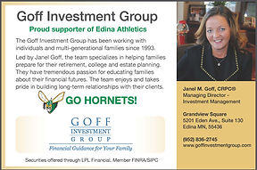 Goff Investment Group Ad Edina Booster 2