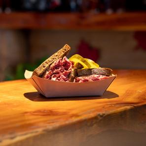 Montreal Smoke Meat Sandwich