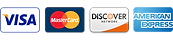 Visa, Mastercard, Discover and Amerian Express are credit cards that Denali ATM accepts and processes