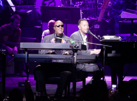 Stevie Wonder's, Lionel Richie, John Legend, Queen Latifah and More Gather for Wonders House Full of