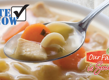 10 semifinalists announced in Our Family® is Souper recipe contest, online voting now open