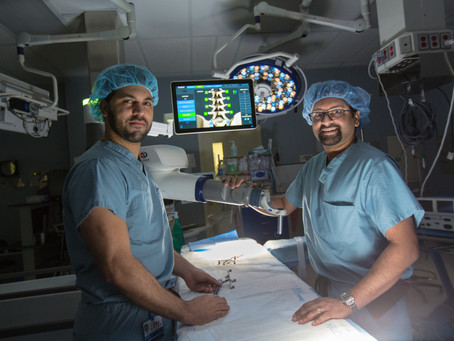 Henry Ford Allegiance Health First in State to Introduce an Innovative Minimally Invasive Robotic Sp