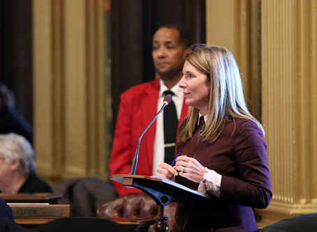 Lasinski Votes to Protect Local Control, Promote Equal Pay-Legislation threatens local control in re