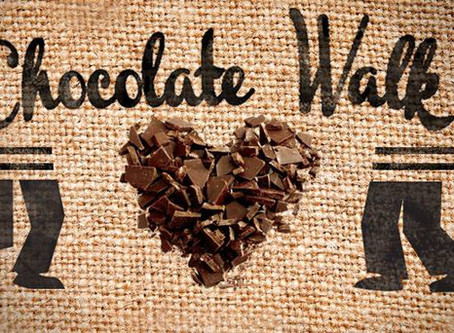 5TH ANNUAL CHOCOLATE WALK  TAKING PLACE IN OLD TOWN