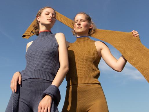 Janne Landuyt's geometric knits