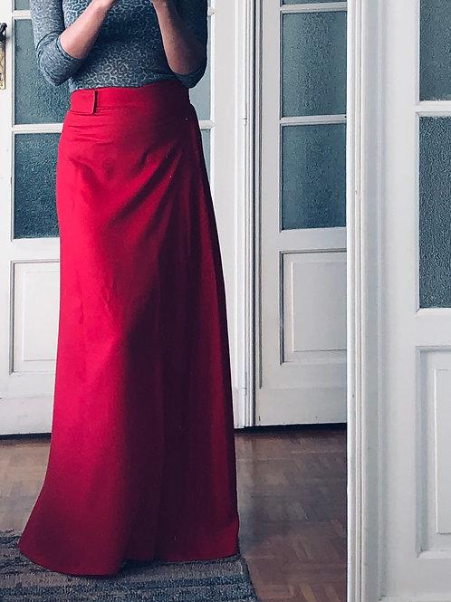 Skirt Long Red