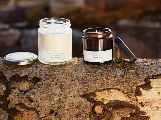 Eco candles to brighten up the dark winter days