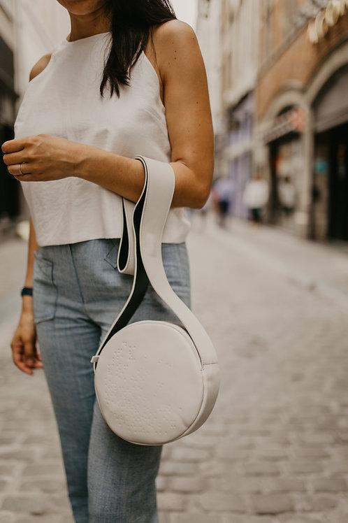 Mini Drumbag White