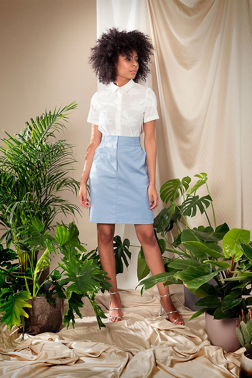Soda Skirt Sky Blue