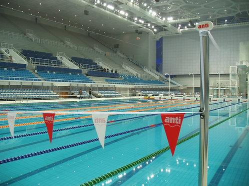 Backstroke Flags and Falsestart Pole Set