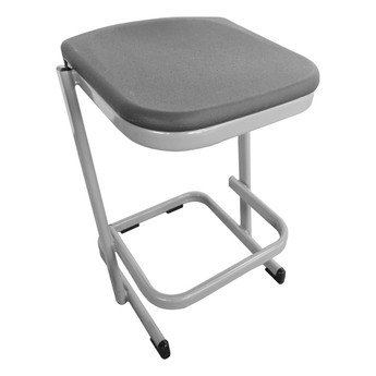 Cantilever Stool - Plastic Top