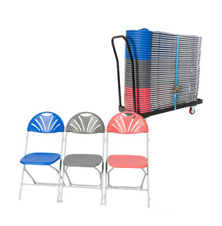 40 Chairs & Trolley