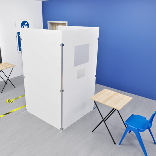 Spaceforme Covid Booth