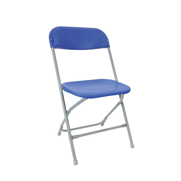 Straight Back Folding Chair