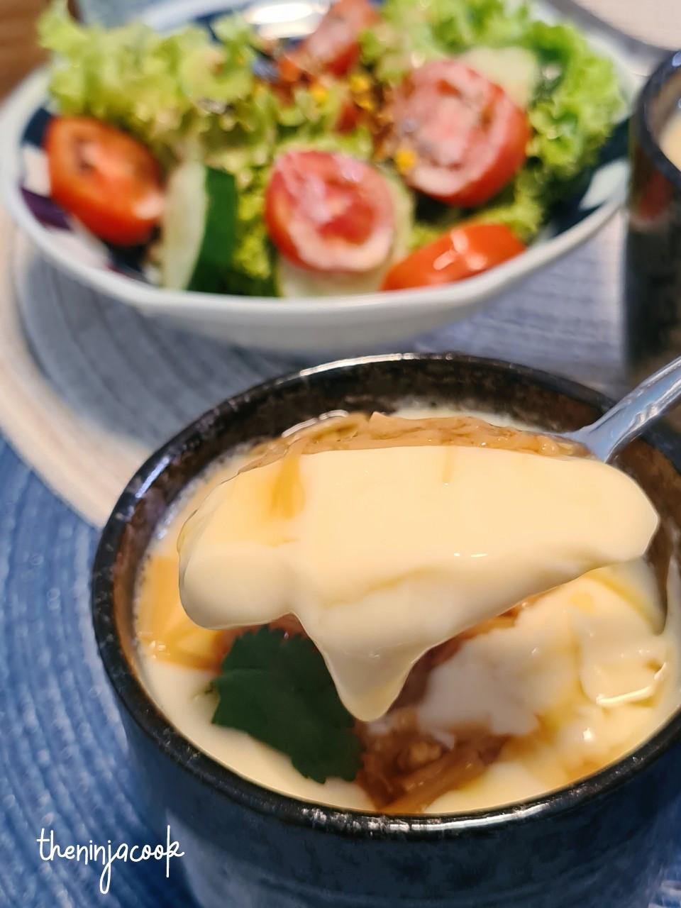 chawan mushi, steamed Japanese egg
