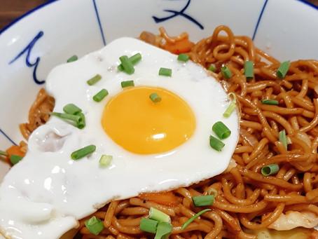 Yaki Soba (Japanese Fried Noodles)